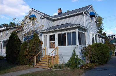 Royal Oak Single Family Home For Sale: 410 N Washington