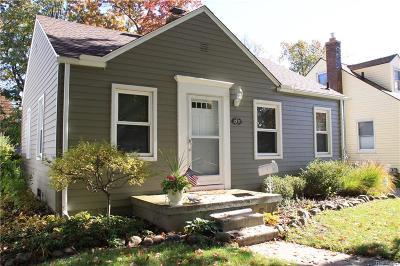 ROYAL OAK Single Family Home For Sale: 1511 Longfellow Avenue