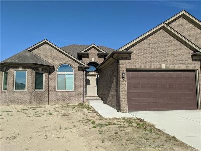 Macomb Twp Single Family Home For Sale: 18323 Aqua Drive