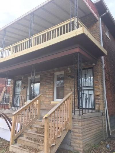 Detroit Multi Family Home For Sale: 633 Belmont Street