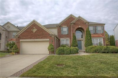 Macomb Twp Single Family Home For Sale: 48577 Bay Harbor Drive