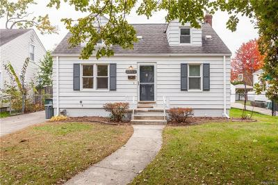 Royal Oak Single Family Home For Sale: 1507 Ferris Avenue