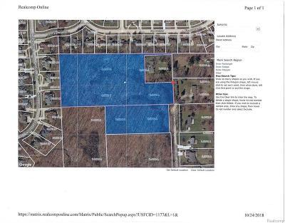 Farmington Hills Residential Lots & Land For Sale: N Schroeder Street