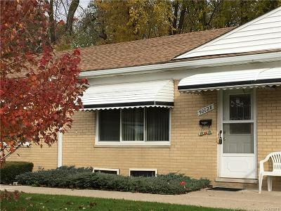 Wixom Condo/Townhouse For Sale: 50028 Helfer Boulevard