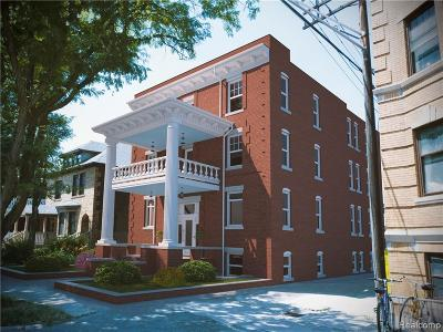 Detroit Condo/Townhouse For Sale: 632 Prentis Street #4