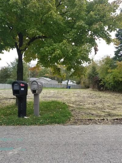 Waterford Twp Residential Lots & Land For Sale: 4001 Elmhurst Road