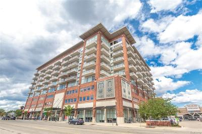 Royal Oak Condo/Townhouse For Sale: 350 N Main Street #914
