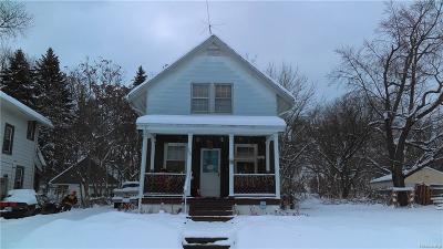 Pontiac Single Family Home For Sale: 208 E Rundell Street