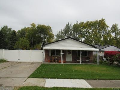 Single Family Home For Sale: 16326 Ziegler Street