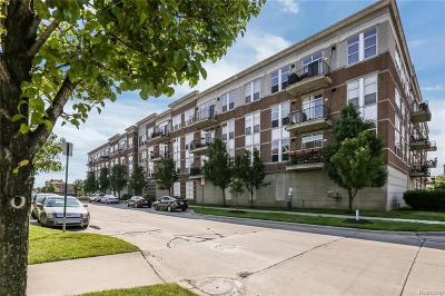 Detroit Condo/Townhouse For Sale: 66 Winder Street #208
