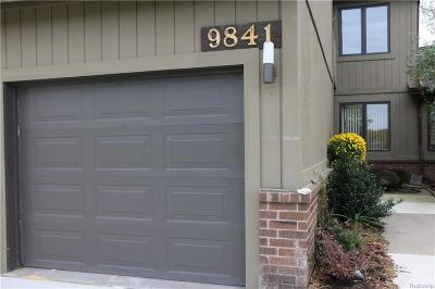 Grosse Ile Twp Condo/Townhouse For Sale: 9841 Hawthorne Glen