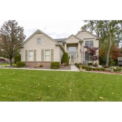 Commerce Twp Single Family Home Contingent - Continue To Show: 2048 Applebrook Drive