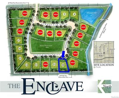 Shelby Twp Residential Lots & Land For Sale: 53309 Winter Pine