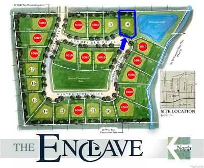 Shelby Twp Residential Lots & Land For Sale: 53248 Summer Elm