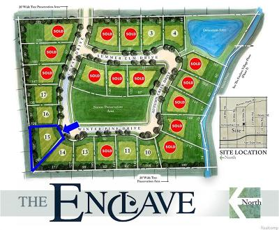 Shelby Twp Residential Lots & Land For Sale: 14047 Copse Drive