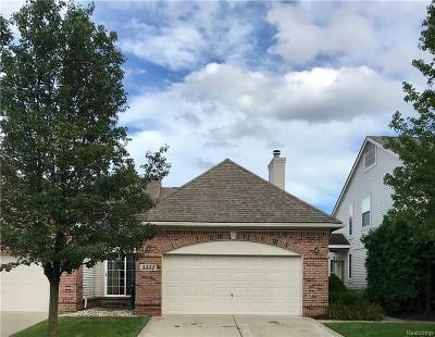 Commerce Twp Condo/Townhouse For Sale: 5332 S River Drive