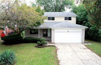 Southfield Single Family Home For Sale: 18495 Onyx Street