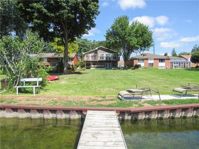 Keego Harbor, Sylvan Lake Single Family Home For Sale: 917 James K Boulevard