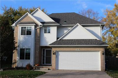 Rochester, Rochester Hills Single Family Home For Sale: 165 Eastlawn Drive