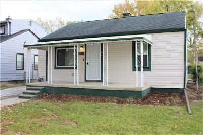 Inkster Single Family Home For Sale: 26135 Norfolk Street