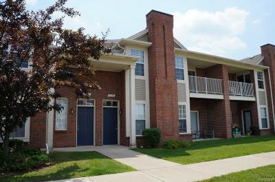 Shelby Twp Condo/Townhouse For Sale: 2264 Leighton Drive
