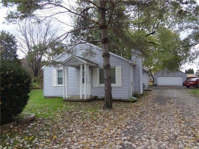 Van Buren, Van Buren Twp Single Family Home For Sale: 6973 Belleville Road