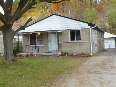 Southfield Single Family Home For Sale: 21036 Wakedon Street