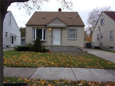 Allen Park Single Family Home For Sale: 15877 Warwick Avenue