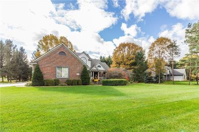 Brandon Twp MI Single Family Home For Sale: $349,900