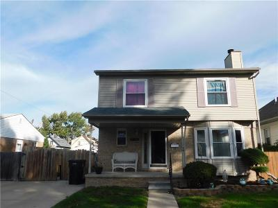 Wyandotte Single Family Home For Sale: 1138 Maple Street