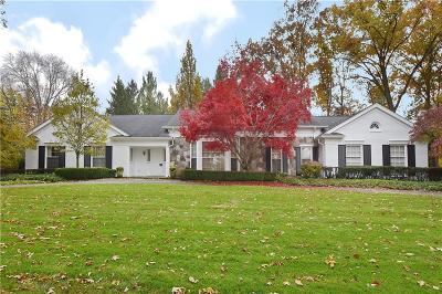 Farmington, Farmington Hills Single Family Home For Sale: 27815 Lakehills