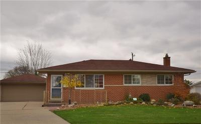 Warren Single Family Home For Sale: 3412 Arden Drive