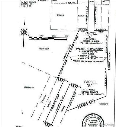 Huron Twp Residential Lots & Land For Sale: Van Horn