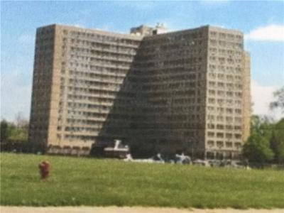 Detroit Condo/Townhouse For Sale: 8900 E Jefferson Avenue Unit 825 Avenue E #825