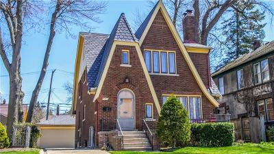 Royal Oak Single Family Home For Sale: 523 S Pleasant Street