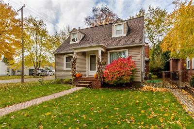 Dearborn Single Family Home For Sale: 3454 Williams Street