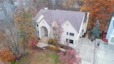 West Bloomfield, West Bloomfield Twp Single Family Home For Sale: 6087 Oak Trail