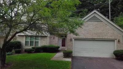 Farmington Hills Condo/Townhouse For Sale: 35599 Woodfield Drive #12