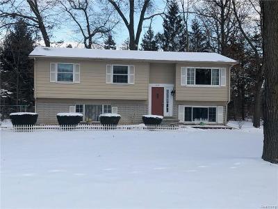 Highland Twp Single Family Home For Sale: 1118 Blue Heron Drive