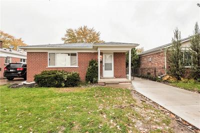 Dearborn Heights Single Family Home For Sale: 5756 Norborne Avenue