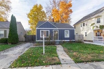 Royal Oak Single Family Home For Sale: 1328 McLean Avenue
