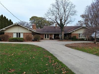 Grosse Ile Twp MI Single Family Home For Sale: $729,900
