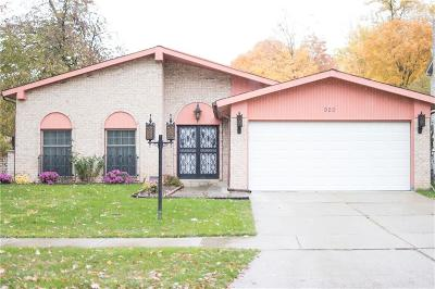 CANTON Single Family Home For Sale: 920 Tyndall Drive