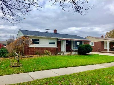 Trenton Single Family Home For Sale: 3543 Salem Drive