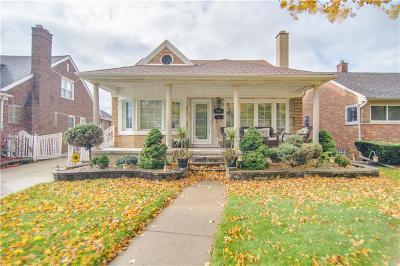 Dearborn Single Family Home For Sale: 5945 Oakman Boulevard