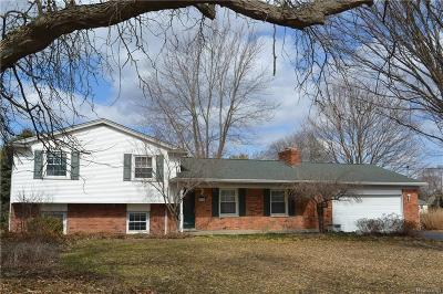 Commerce, Commerce Township, Commerce Twp Single Family Home For Sale: 3676 Sandbar Drive