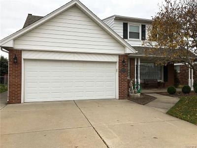 Sterling Heights Single Family Home For Sale: 36836 Manning Court
