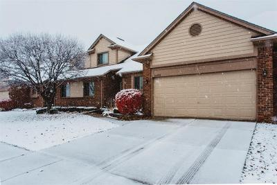 Macomb Twp Condo/Townhouse For Sale: 16822 Country Ridge Lane