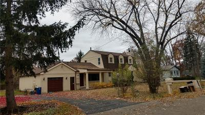 Waterford, Waterford Twp Single Family Home For Sale: 1150 Bangor Road