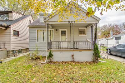 Hazel Park Single Family Home For Sale: 327 W Bernhard Avenue